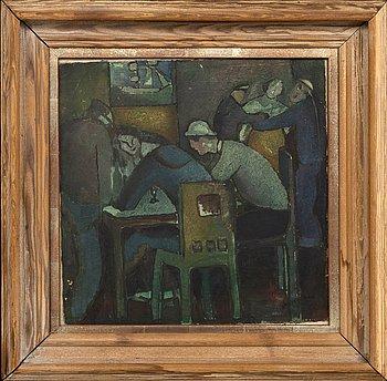Waldemar Lorentzon, oil on canvas, signed.