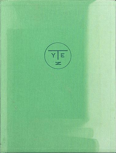 """Marie toyen, torrnålsgravyrer 3 st., signerad och numrerad 66/75, samt bok,  """"toyen"""", ragnar von holten."""