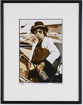 Henry Diltz, photograph portrait of Keith Richards.