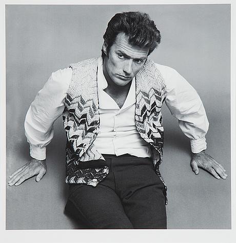 Jack robinson, photograph portrait of clint eastwood.