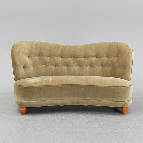 A swedish modern sofa, 1940's.