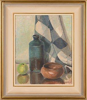 Nils Relander, oil on canvas, signed.