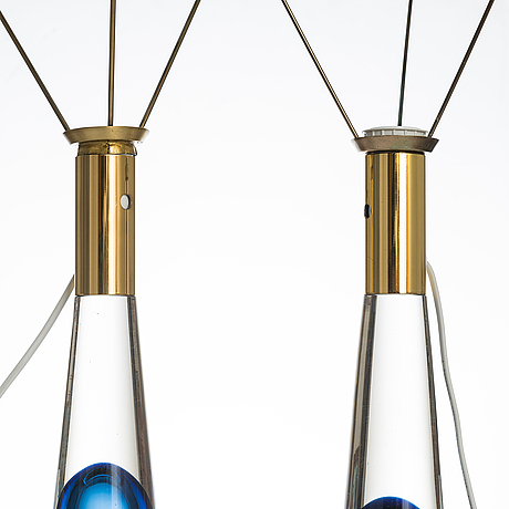 Lisa johansson-pape, a pair of mid-20th century '40-014' table lamps for stockmann orno.