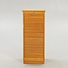 An eeka meubel 1980s oak filing cabinet.