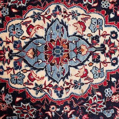 A carpet, mashad, ca 393 x 293,5 cm.