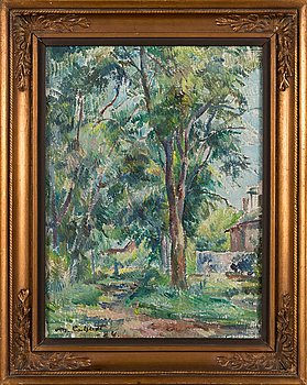 Mikko Carlstedt, oil on canvas, signed-and dated-24.
