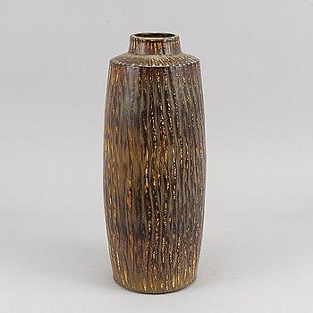 A stoneware floor vase by Gunnar Nylund, Rörstrand.