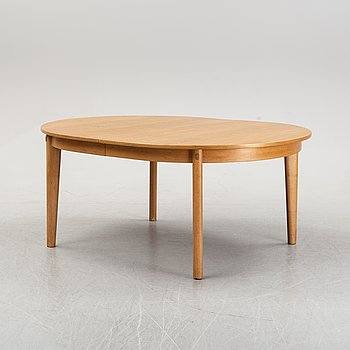 An 'Oresund' oak dining table by Børge Mogensen for Karl Andersson & Son, second half of the 20th Century.