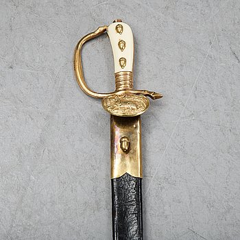 A 20th Century hunting sword.