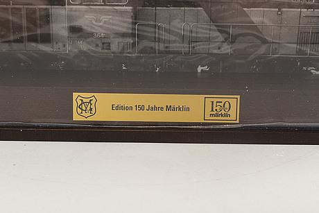 """Märklin, locomotive 37941, """"edition 150 jahre märklin"""", h0."""