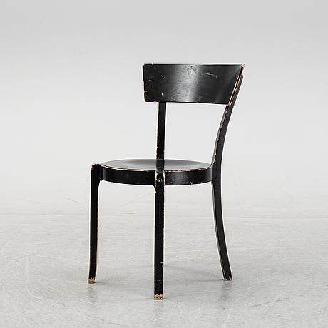 """Åke axelsson, stolar, 8 st, """"gästis"""", galleri stolen, sent 1900-tal."""