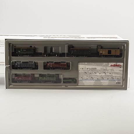 Märklin, 5 wagon sets, 42724, 42762, 42757, 4789 and 42765, h0.