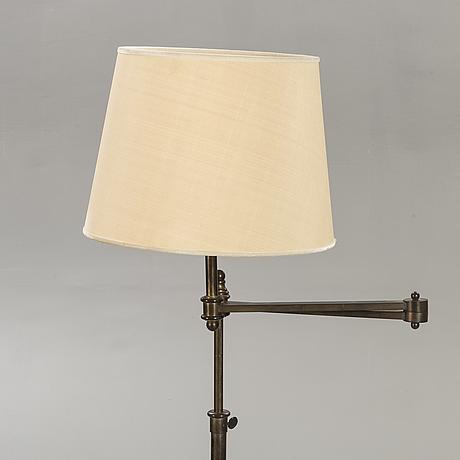 A metal floor lamp 21st century.
