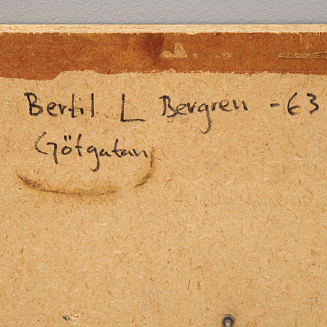 Bertil berggren, a wall relief in iron on panel, signed and dated 1963.