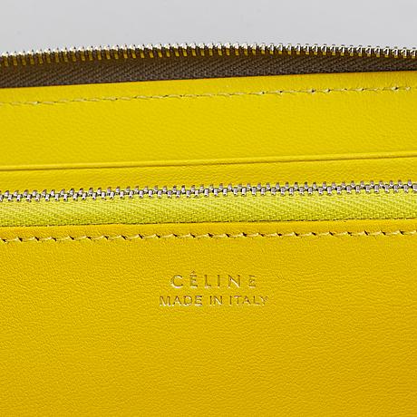 Céline, 'souris large zipped multifunction' wallet.