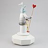 """Jaime hayon, a porcelain figurine, 'the lover iii"""", from 'the fantasy collection', lladró, spain, 2008."""
