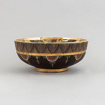 A Japanese satsuma bowl, 20th century.