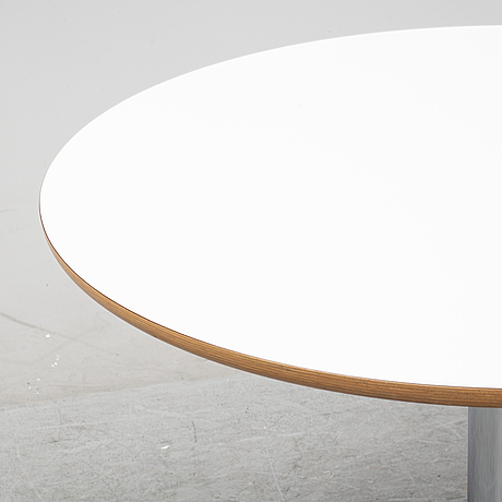 A round table by börge lindau, secpnd half of the 20th century.