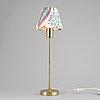 A model 2332 brass table light by josef frank for firma svenskt tenn.