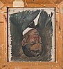 Ilmari aalto, oil on board, signed and dated -22.