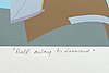Franco costa, lithograph in colours signed and numbered 211/250.