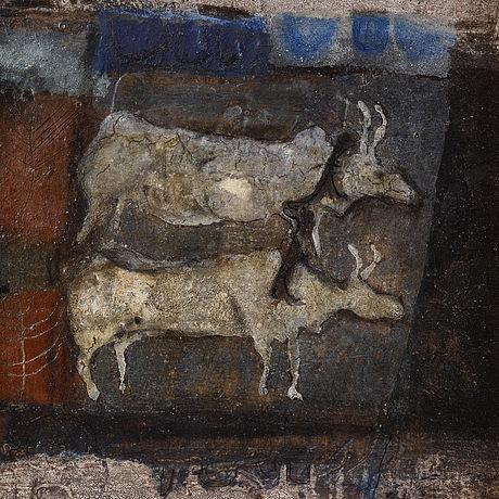 James coignard, oil on canvas, signed.