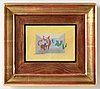 Jacques villon, oil on canvas, signed and dated -50.