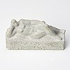 Eric grate, sculpture, stone, signed.