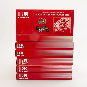 6 Rivarossi sets from the Orient Express Collection.