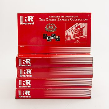 5 Rivarossi wagon sets from the Orient Express collection..
