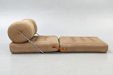 "Gillis lundgren, fåtölj/dagbädd, tyg, ""tajt"", ikea, 1970-tal."