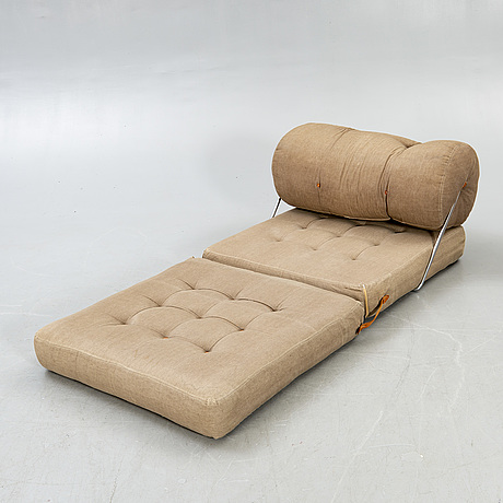 """A gillis lundgren, armchair / daybed, """"tight"""" for ikea, 1970s."""