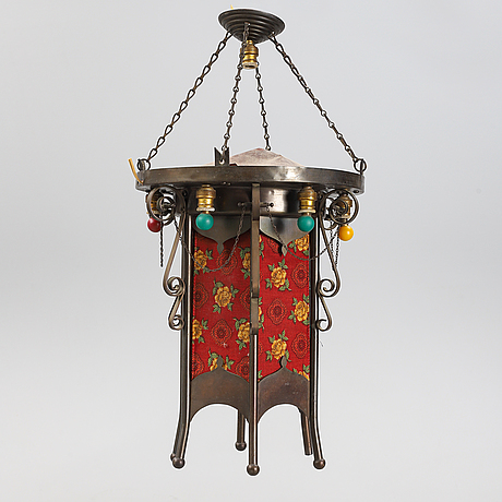 A lamp or lantern, possibly danish, first half of the 20th century.