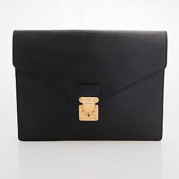 """Louis Vuitton, """"Porte Documents Senateur"""", clutch."""