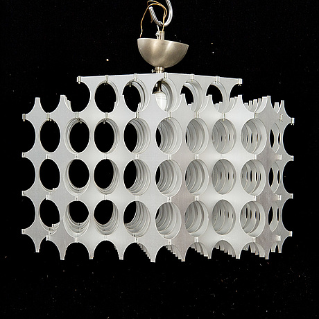 """Mario marenco, ceilig lamp """"mera"""" for artemide 1980s."""