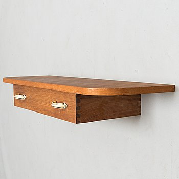 Shelf, teak, half of the 20th century.