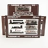 3 fleischmann train sets, 1913, 1904 and 871904.