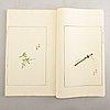 "Shizhuzhai jianpu, ""ten bamboo studio manual of painting and calligraphy"", one volume, rongbaozhai, beijing, 1952."