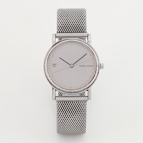 Georg jensen, design jörgen möller, armbandsur, 30 mm.
