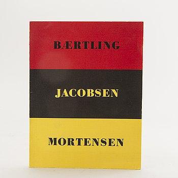 """BOOK, """"Concrete Realism, Baertling, Jacobsen, Mortensen""""."""
