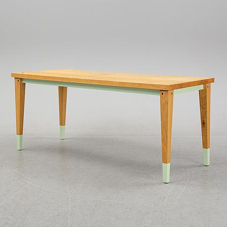A contemporary 'arx table', bullenberg, berlin.
