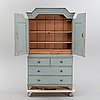 A compostite cabinet 18th and 19th century.