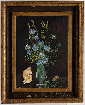 Arthur Percy, oil on panel, signed and dated 1952.