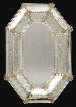 Mirror, Venetian style mid-20th century.