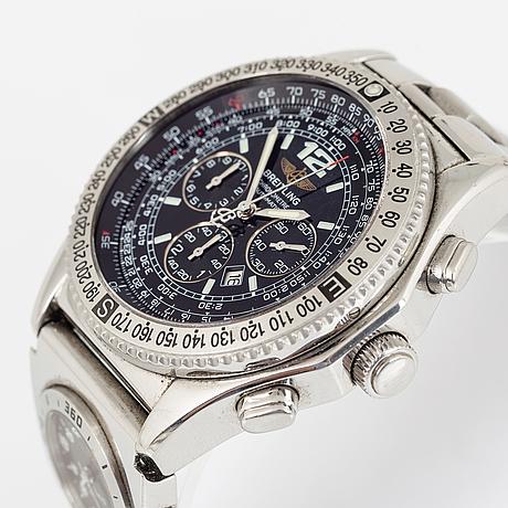 Breitling, b-2, chronograph, wristwatch, 43,2 mm.