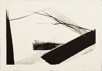 Toko Shinoda, lithograph, signed, numbered 21/30.