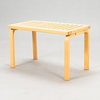 Alvar Aalto, A late 20th century '153B' bench for Artek.