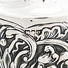 Skedar, ett par, london 1787-91, burk, london 1891 och fat, chester 1906, sterling silver, england.