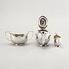 Teservis 3 dlr silver österrike/ungern 1870-tal.