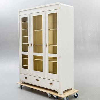 A painted display cabinet first half of the 20th century.
